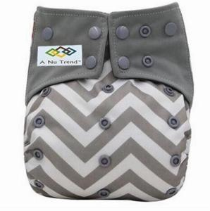 EMF/EMR Infant Cloth Diaper Grey - A Nu Trend