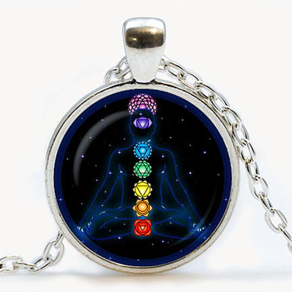 Zen Meditation 7-Path Chakra Necklace