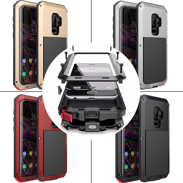Samsung Case - 360 Full Protective Heavy Duty Protection For Samsung S9/S9 Plus + Tempered Glass Film