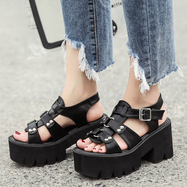9ceeec98ca3a 2018 Women Summer Gladiator Platform Sandals – styleNB