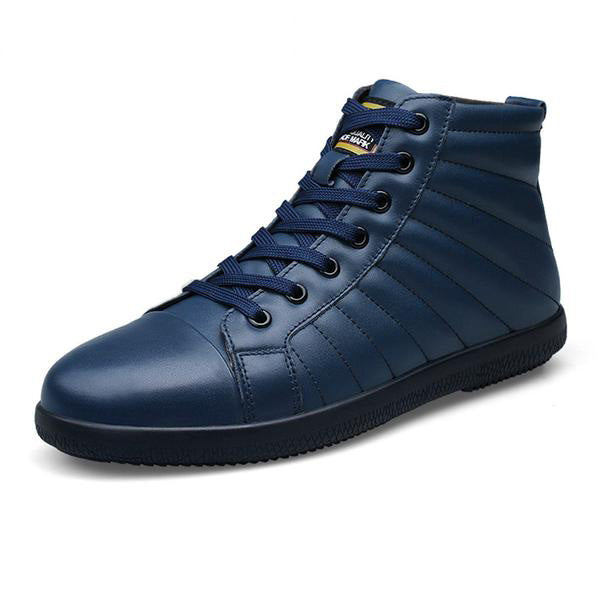 Shoes -Men's Winter Leather Ankle Boots
