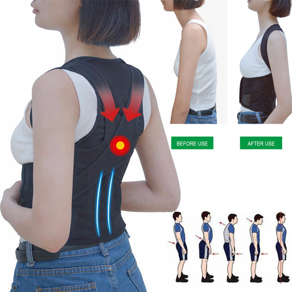 Back Waist Support Belt Posture Corrector