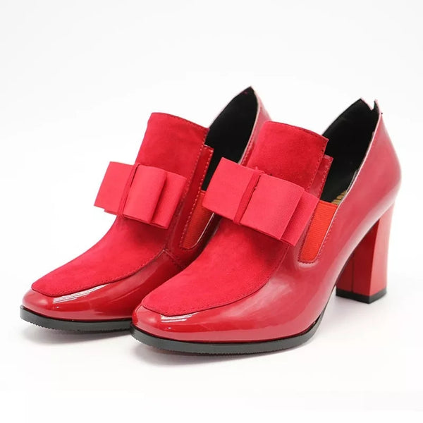 Shoes-2020 New Fashion 100% Leather Red Bottom Sole Women's High Heels