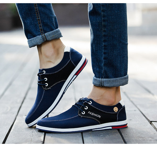 men shoes - New canvas breathable men's shoes