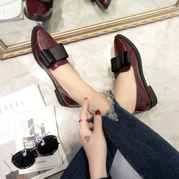 Shoes - Classic Brand Casual Pointed Toe Black Oxford Shoes
