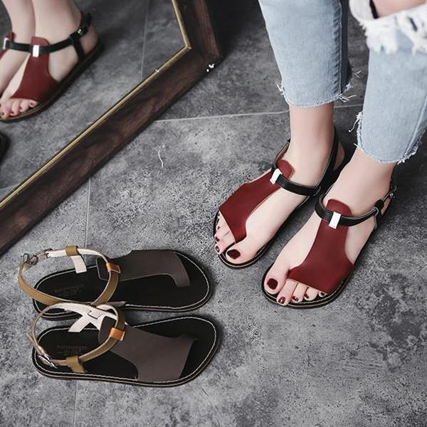 0bf1550e974 Women s Casual Genuine Leather Handmade Sandals