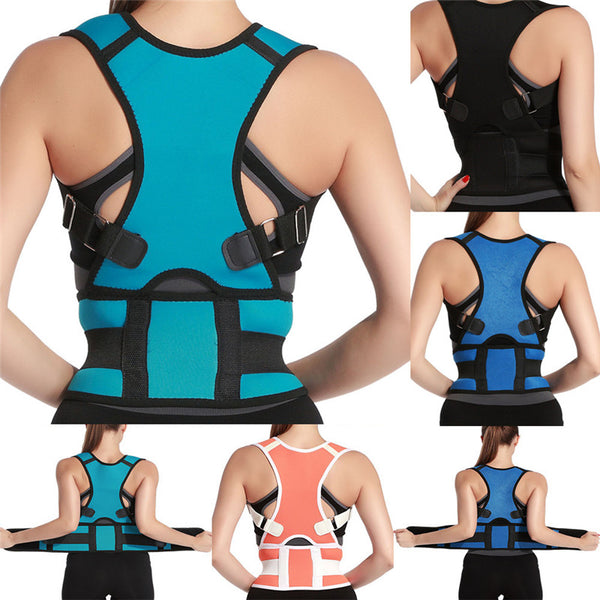 Adjustable Health Care Back Waist Support Corrector Posture Belt