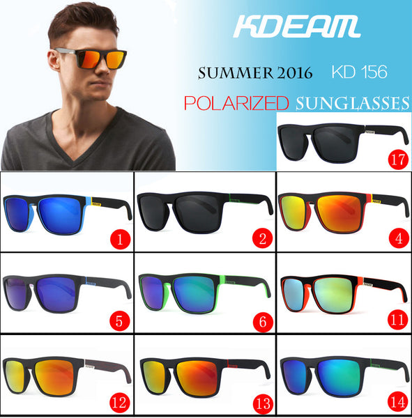 Sunglasses - KDEAM Mirror Polarized Sunglasses