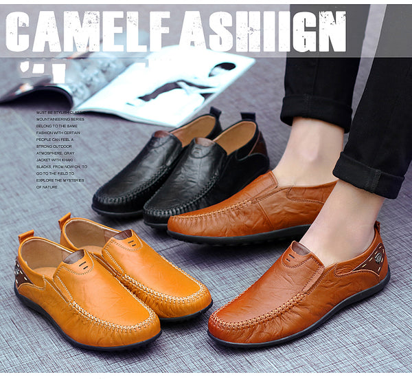 2017 New Arrival Split Leather Men Casual Shoes Fashion