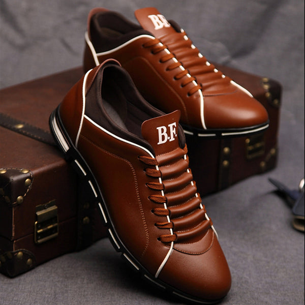 Shoes -Men's Casual Breathable Leather Shoes