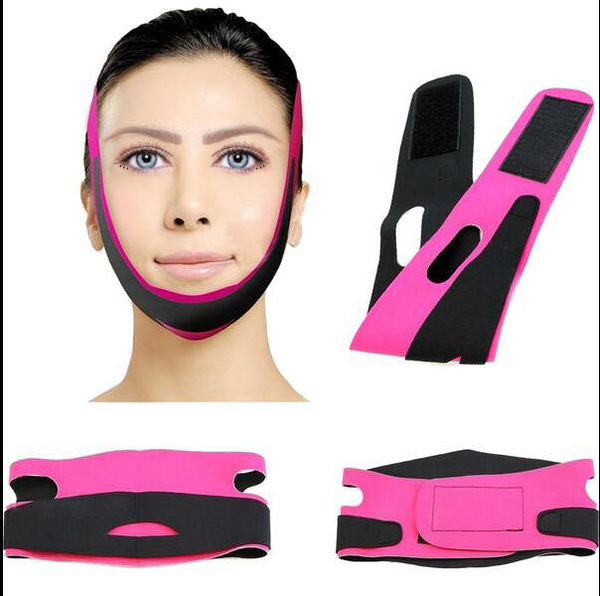 Beauty Tool- Women 's Chin Cheek Slim Lift Up Anti Wrinkle V Face Line Belt