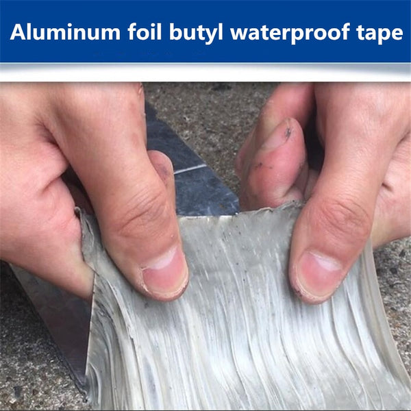 Super High Temperature Resistance Waterproof Aluminum Foil Repair Tape