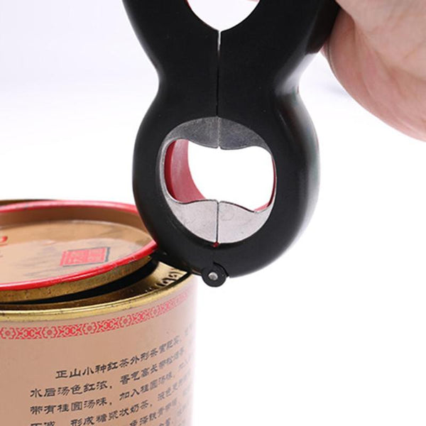 6 in 1 MultiFunction Bottle Opener All in One Jar Gripper