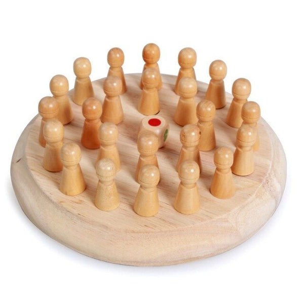 Kids children Wooden Memory Match Stick Chess Card Game Educational Toys Brain Training Gifts