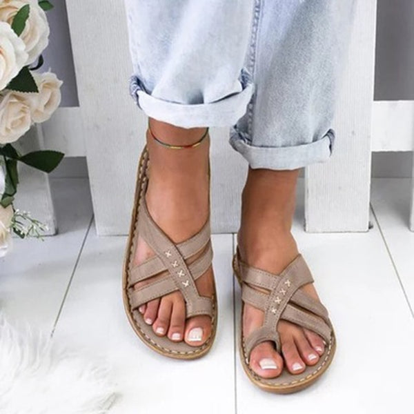 Women Comfy Slippers 2020 Fahion Roman Wedge Sandals