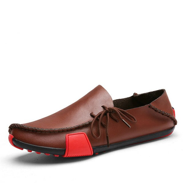 New Leather Mens Loafers Fashion Shoes Handmade