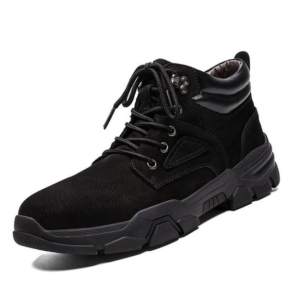 Men's High Top Boots Ankle Booties Fashion Shoes