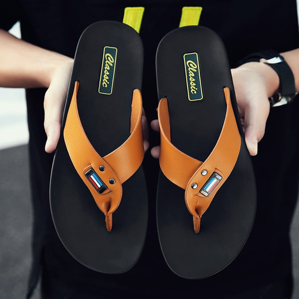 2019 New Men's Casual Shoes Beach Breather Sandals