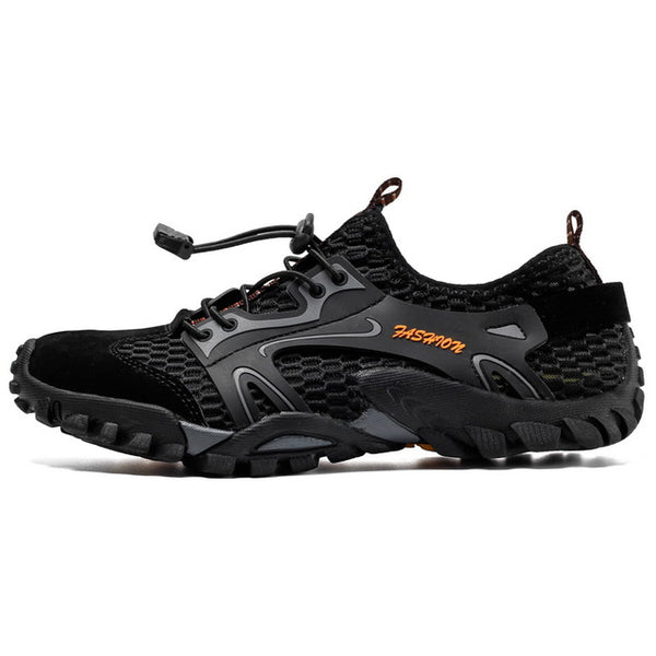 New Men's Outdoor Running Shoes Breathable Male Sneakers