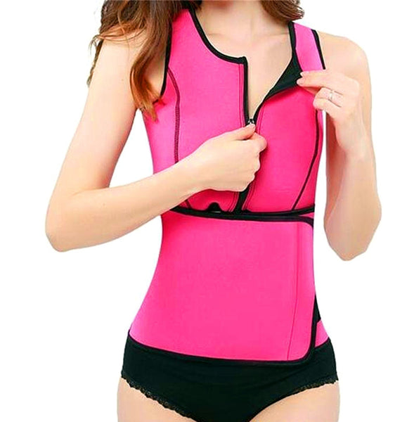 Body Shaper - Neoprene Sauna Waist Trainer Vest
