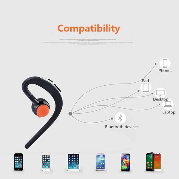 Handsfree Bluetooth headsets earphone  with mic voice control