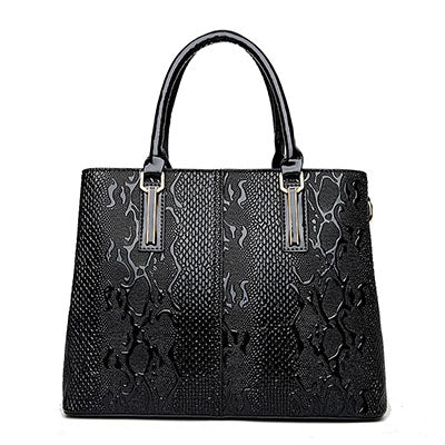 Handbags-2017 Luxury Handbags Women Bags Fashion Serpentine Ladies Hand Bags