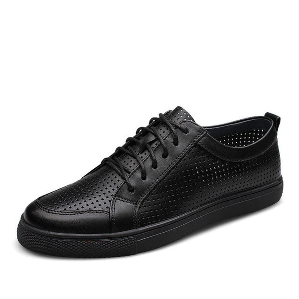 New Fashion Breathable Men's Genuine Leather Shoes
