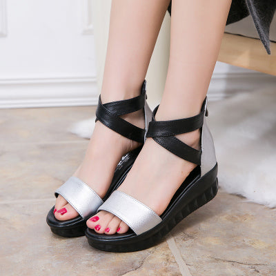 6953be3dbc5 Women s Summer Ankle Strap Platforms Wedges Sandals – styleNB