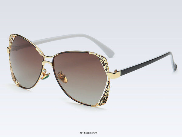 Sunglasses - Classic Metal Polarized Sunglasses
