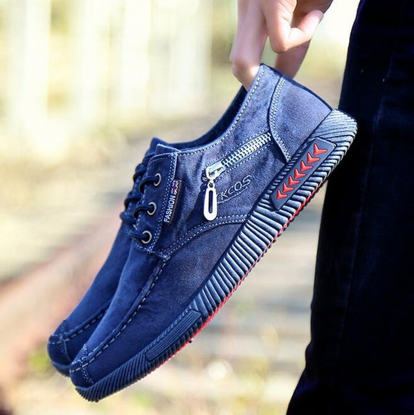 Shoes-Hot classic denim cloth casual canvas shoes