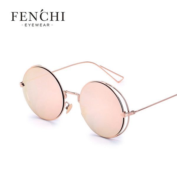 New Arrival Cool Lady Mirror Frameless Sunglasses