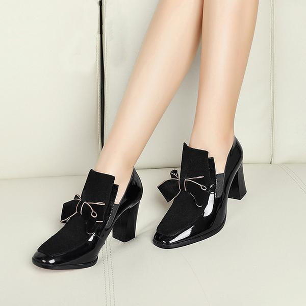 Shoes -  Women's Fashion Sexy Leather High Heels