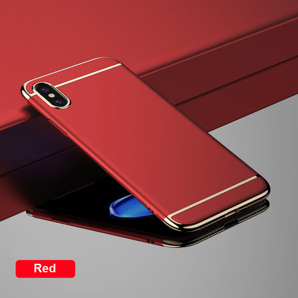 New Arrival Luxury Ultra Slim PC Hard Full Phone Case For Apple iPhone 8