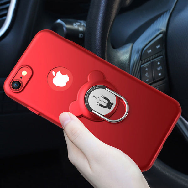 Luxury 3 In 1 Shockproof Armor Case For iPhone