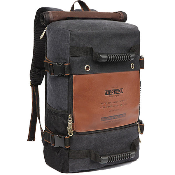 Backpack-2017 men's fashion multi-functional backpack