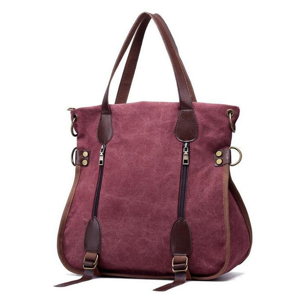 Bag - Women's Fashion Big Canvas Bag