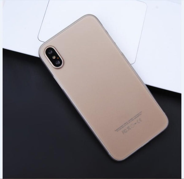 Fashion Phone Case Anti-scratch Phone Back Case for iPhone 8