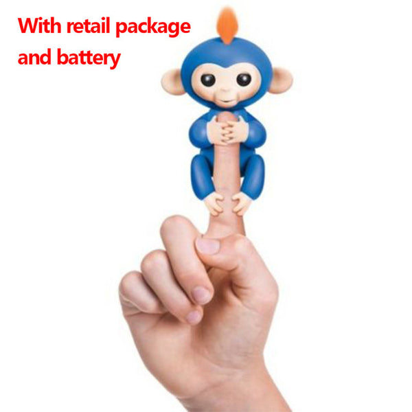6 Color Fingerlings Interactive Baby Monkey Toy Boris