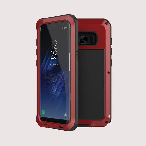 Luxury Doom Armor Dirt Shock Waterproof Metal Aluminum Phone Case For iphone