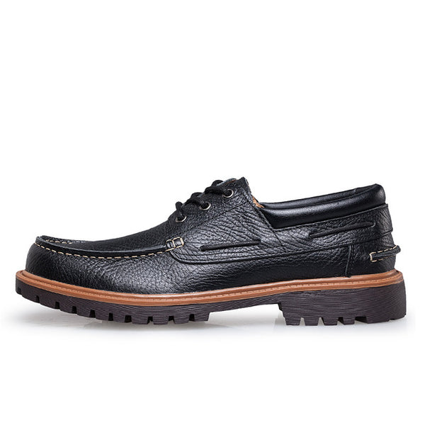 Shoes - New Fashion Punk Style Urban Men Leather Oxford Shoes