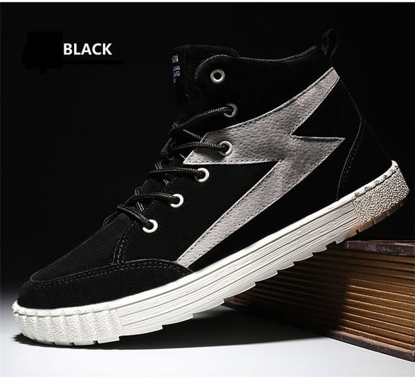 Spring Autumn Sneakers Casual Shoes Fashion Style Lace Up Rubber Flats Basic Shoes