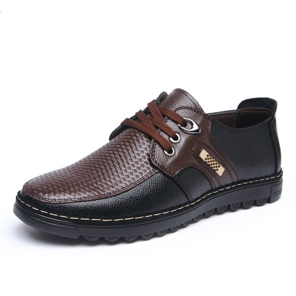 Shoes- 2017 men's fashion leather flooring casual shoes