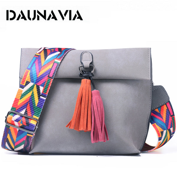 Bag- Female Designer Handbags Women bags with colorful strap