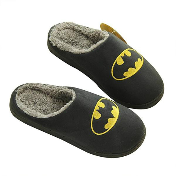 Home Office Home Slippers Man Winter Shoes Fur Funny Slippers