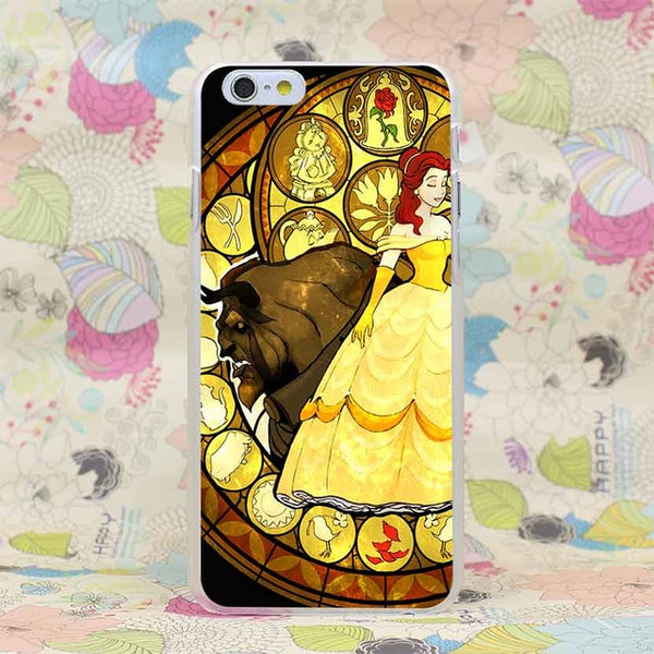 Beauty and The Beast Cover Coque Phone Cases for iPhone