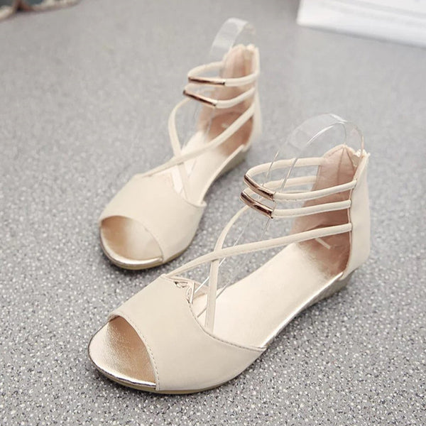 49e3030fbba Women's Summer Shoes Gladiator Sandals Ladies Wedge Shoes