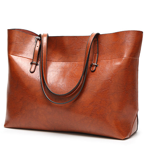 2018 Women Hangbags  Leather Tote Bag Large Capacity Shoulder Bags