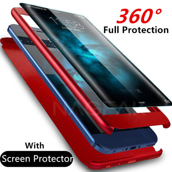 online store df446 53c4c Luxury 360 Degree Full Protection Phone Case For Samsung Galaxy S8/S8  Plus/S9/S9 Plus