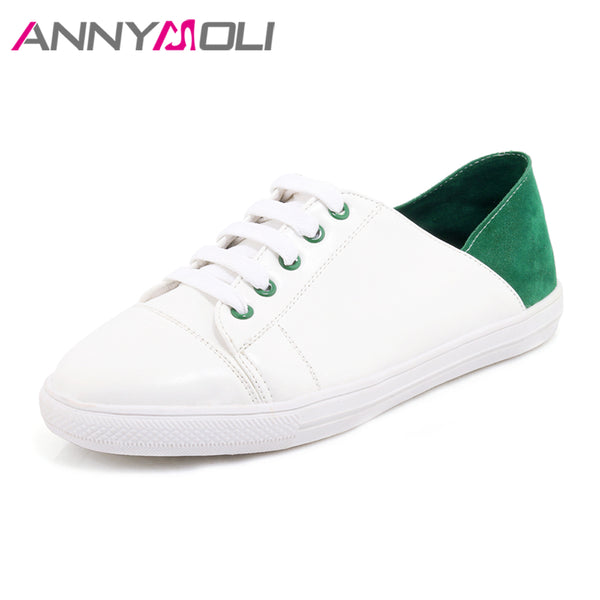 1153f5e0b3 Shoes - Women s Round Toe Flats Lace Up Loafers Shoes