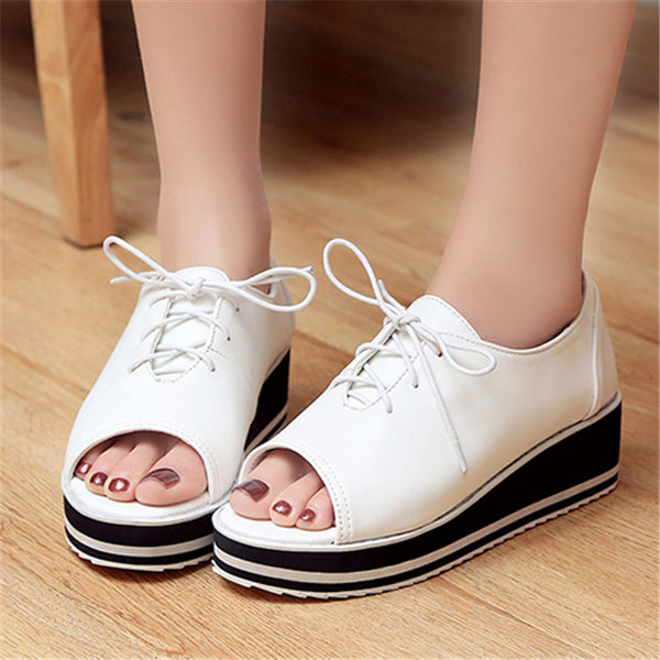 0f426e7548 Shoes - Summer Women Oxfords Flat Shoes